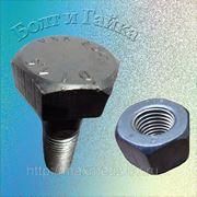 Болт высокопрочный ГОСТ Р52644-2006 (22353-77) М16Х60 кл.пр. 10.9 фото