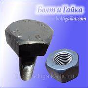 Болты высокопрочные ГОСТ Р 52644-2006, 22353-77. Размер: м22 длина 110 мм. фото