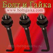 Болт фундаментный изогнутый тип 1.1 М24х1250 (шпилька 1.) Сталь 35. ГОСТ 24379.1-80 (масса шпильки 4.70 кг. ) фото