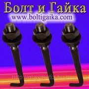 Болт фундаментный (шпилька) ГОСТ 24379.1-80 1.1 М30Х1600 ст.3 (масса шпильки 9,32 кг.) фото