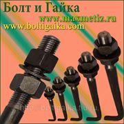 Болт фундаментный изогнутый тип 1.1 М30х1120 (шпилька 1.) Сталь 35х. ГОСТ 24379.1-80 (масса шпильки 6.65 кг. ) фото