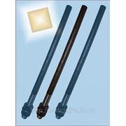 Болты фундаментные прямые, тип 5 м42х1900 ГОСТ 24379.1-80. ст3-35, 35х, 40, 40х, 09г2с, 45. ( масса шпильки 20.65 кг. ). фото