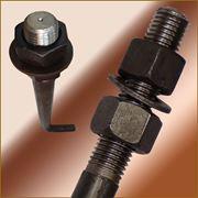 Болт фундаментный изогнутый тип 1.1 М42х1500 (шпилька 1.) Сталь 09г2с. ГОСТ 24379.1-80 (масса шп 17.56 кг. ) фото
