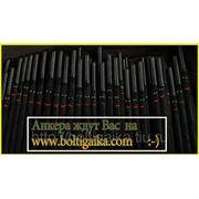 Болты фундаментные прямые, тип 5 м42х1400 ГОСТ 24379.1-80. ст3-35, 35х, 40, 40х, 09г2с, 45. ( масса шпильки 15.22 кг. ). фото