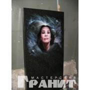 Памятники с нанесением портрета фото
