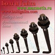 Болт фундаментный (шпилька) ГОСТ 24379.1-80 1.1 М16Х1000 ст.3 (масса шпильки 1,65 кг.) фото