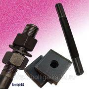 Болты фундаментные с анкерной плитой тип 2.1 м42х1600 (шпилька 3) Ст3 ГОСТ 24379.1-80 (масса шпильки 17.39 кг) фото