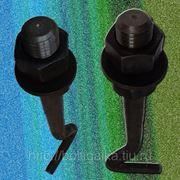 Болты фундаментные изогнутые тип 1.2 М42х1500. Сталь 3. ГОСТ 24379.1-80 (вес шпильки 17.56 кг.) фото