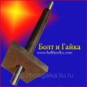 Болт фундаментный 2.2 м64х2000, сталь: 3-35, 40х, 45, 09г2с, ГОСТ 24379.1-80. (вес шпильки 56.82 кг.) фото