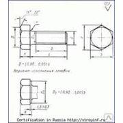 Болт высокопрочный М30 ГОСТ 52644-2006 (22353-77) 110 ХЛ, длина 50-200 мм
