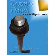 Болт фундаментный изогнутый тип 1.1 М12х900 (шпилька 1.) Сталь 35 ГОСТ 24379.1-80 (вес шпильки 830 гр. ) фото