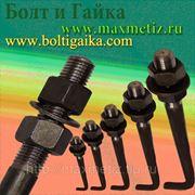 Болт фундаментный (шпилька) ГОСТ 24379.1-80 1.1 М42Х2240 ст.3 (масса шпильки 25,61 кг.) фото