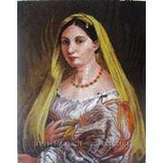 Любые картины великих художников -в панно из мозаики фото