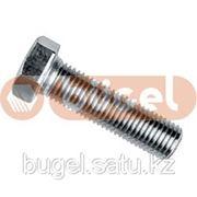 Болт DIN933 кл. пр. 8.8 покрытие цинк М12*30 фото