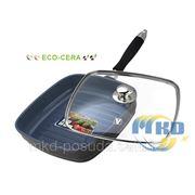 VS-2274 Сковорода-гриль с керамическим покрытием ст/кр 24см фото