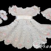 Нарядное платье Жемчужинка фото