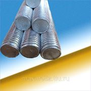 Шпилька резьбовая высокопрочная м36х1000.8.8 DIN 975 оц. фото
