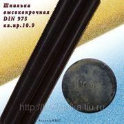 Шпилька резьбовая высокопрочная м12х1000 класс прочности 10.9 фото