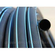 Труба полиэтиленовая диаметр 110мм ПЭ100 SDR 17 (PN 10 ) 10 Атм фото