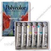Набор акриловых красок Polycolor 1298051 6цв х 20мл Maimeri фото