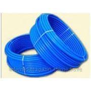 Скважинная труба 32х2.4 ПЭ-100 PN 12.0 (Тула) синяя фото
