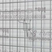 Крючок на сетку L=100мм, d.3мм, хром, FG7-290 фото