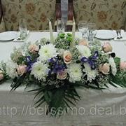 Декор залов цветами фото