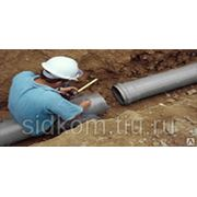 Труба ПВХ канализационная D 50 длина 1 м фото