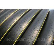 Труба ПЭ для газопровода ГОСТ Р 50838-2009 160 п/э 80 SDR 11 фото