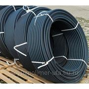 Труба водопроводная ПЭ-80 ГОСТ 18599-2001 SDR 9 – 16 атм. 110мм фото