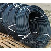 Труба водопроводная ПЭ-80 ГОСТ 18599-2001 SDR 9 – 16 атм. 355мм фото