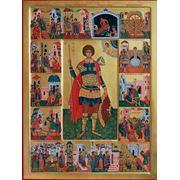 Св. Георгий с житием. фото