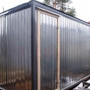 Блок контейнер металлический (бытовка) фото
