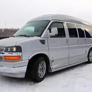 Автомобиль Chevrolet Express G 150 Awd серебристый металлик фото