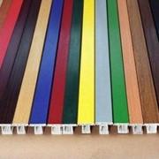 Ламинация профиля ПВХ и алюминия, откосная панель под пленкой, углы, цветные подоконники, сэндвич-панели фото
