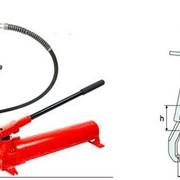 Съемники гидравлические с выносным насосом, рамой безопасности, механизмом центрирования (самоцентрирующиеся) фото