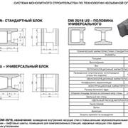 Блоки для внутренних и наружных несущих стен - DMi 25/18 фото