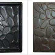 Форма для тротуарной плитки Галька 300х300х30 фото