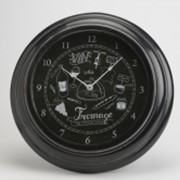 Часы Wine Cheese 43см фото