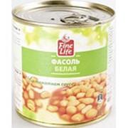 Фасоль FINE LIFE Белая в томатном соусе, 400 г фото