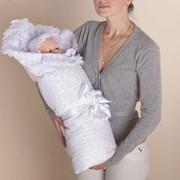 Пододеяльник с уголком для новорожденного фото