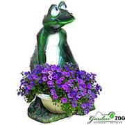 Садовая фигура Лягушка фото
