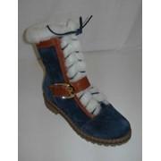 Зимние женские ботинки фото