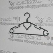 Вешалка детская 295мм, цвет ассорти, с поворотным крючком, В-202/ДВ-11-Пов фото