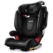 Автомобильное детское кресло RECARO MONZA NOVA 2 (SEATFIX) BLACK 6151.21207.66 фото