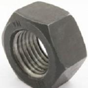 Гайка шестигранная высокопрочная М6 - М30 ГОСТ 5915-5927 класс прочности 8.0, 10.0, 12.0 без покрытия со стандартным шагом резьбы фото