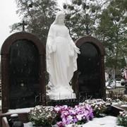 Статуя Богородицы на могилу фото
