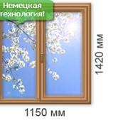 Деревянное евроокно фото
