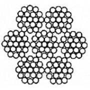 Канат стальной ГОСТ 3067-88 диаметр от 3,1 до 18,5 длина от метра