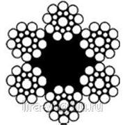 Канат стальной ГОСТ 3077-80 диаметр от 4,6 до 46,0 длина от метра фото